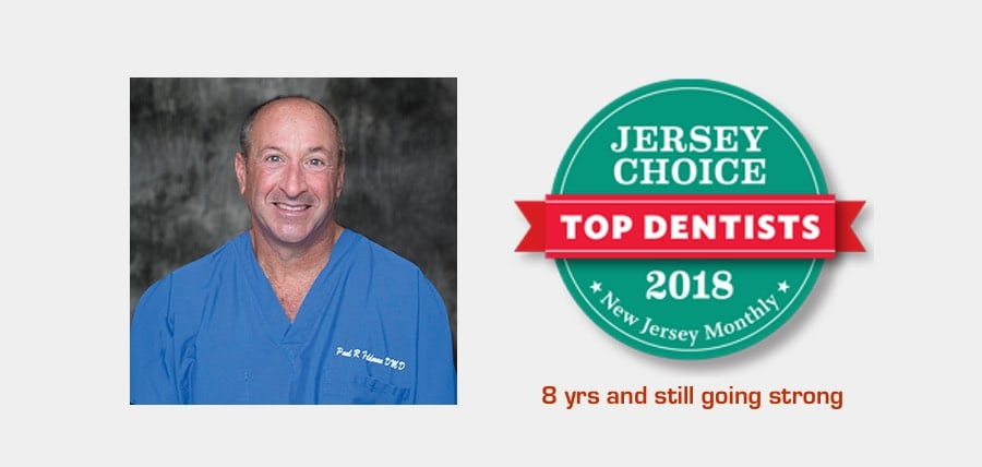 Voted New Jersey Monthly, Top Dentists for 8 consecutive years and still going strong. Dr.Paul R. Feldman, Suburban Essex Dental, West Orange, NJ