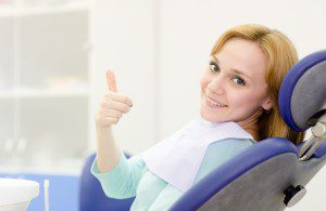 21167203 - young girl in the dental clinic