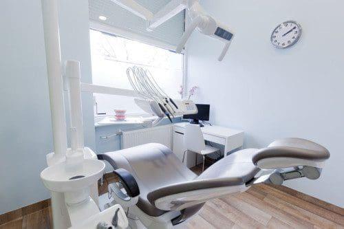 Dentist's office. Dental equipment, modern, clean interior